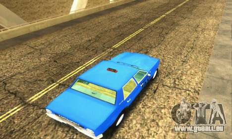 Fasthammer Taxi für GTA San Andreas Seitenansicht