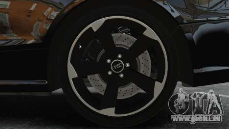 Audi RS5 2011 v2.0 pour GTA 4 Vue arrière