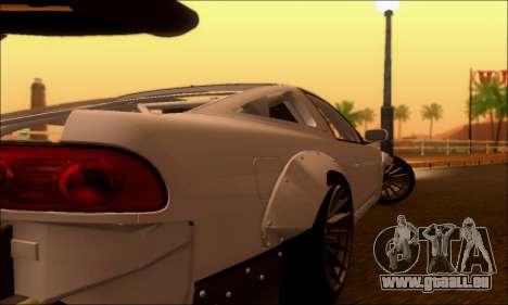 Nissan 380SX BenSopra pour GTA San Andreas vue de droite
