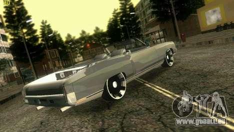 Chevy Monte Carlo pour une vue GTA Vice City de la gauche