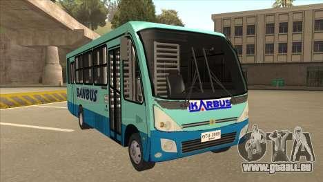 BANBUS Bus Srb. für GTA San Andreas linke Ansicht