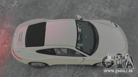 Porsche 911 Carrera S 2012 v2.0 pour GTA 4 est un droit