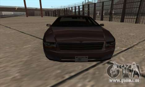 Washington de GTA 5 pour GTA San Andreas sur la vue arrière gauche