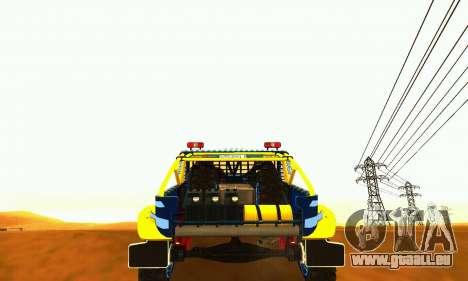 UAZ 31514 Rallye für GTA San Andreas Rückansicht