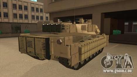 M69A2 Rhino Desierto für GTA San Andreas rechten Ansicht