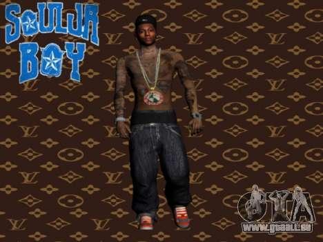 Soulja Boy skin für GTA San Andreas