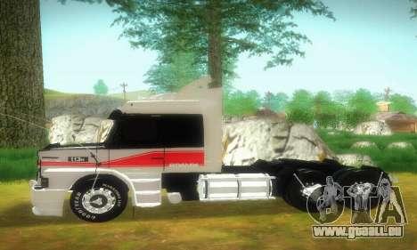 TopLine Scania 113 h 360 pour GTA San Andreas laissé vue