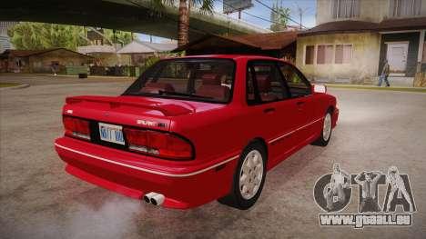 Mitsubishi Galant VR-4 (E39A) 1987 HQLM pour GTA San Andreas vue de droite