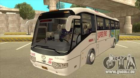 Higer KLQ6129QE - Super Five Transport S 025 für GTA San Andreas