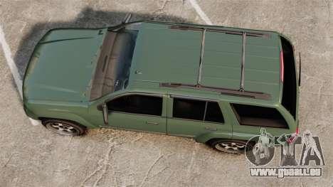 Chevrolet TrailBlazer SS 2008 für GTA 4 rechte Ansicht