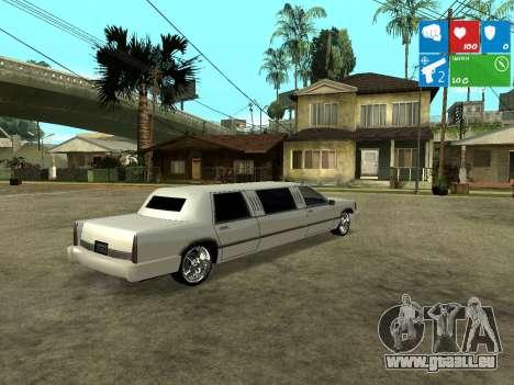 New Stretch für GTA San Andreas zurück linke Ansicht
