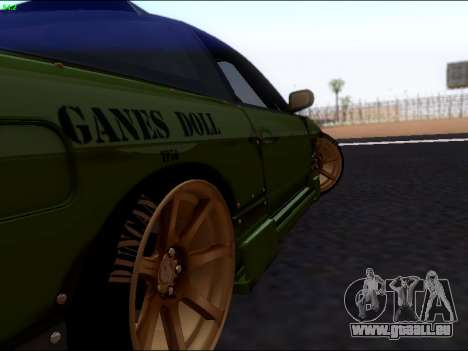 Nissan 180sx Takahiro Kiato für GTA San Andreas rechten Ansicht