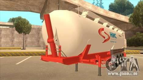 Auflieger zum Scania R620 Nis Nis Kamion für GTA San Andreas