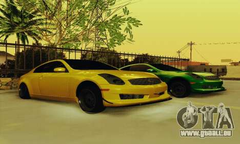 Infiniti G35 Hellaflush für GTA San Andreas