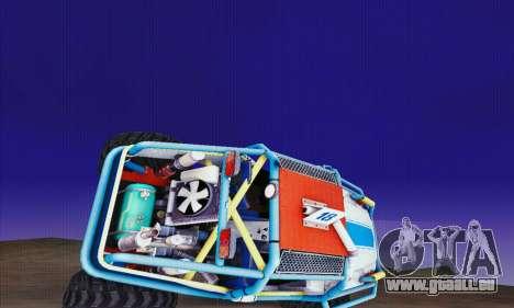 UAZ Cadet für GTA San Andreas Rückansicht
