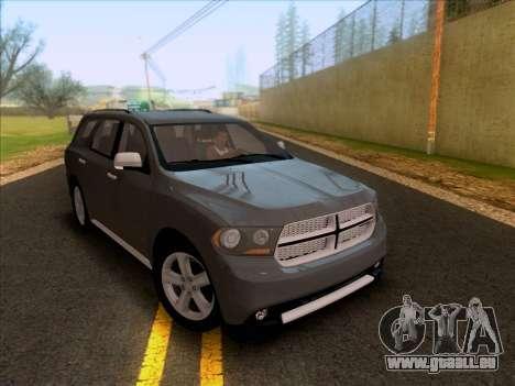 Dodge Durango Citadel 2013 pour GTA San Andreas