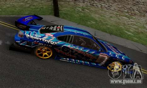 Nissan Silvia S15 Toyo Drift pour GTA San Andreas vue intérieure
