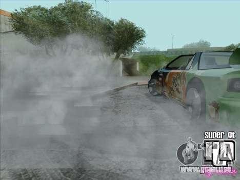 Super GT HD pour GTA San Andreas vue de dessous