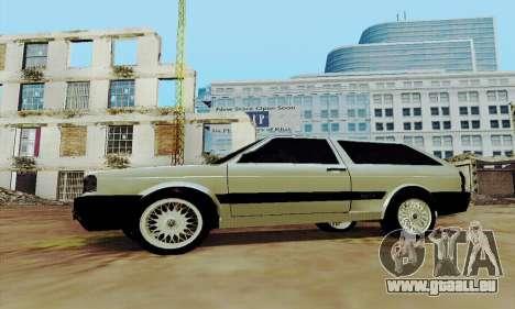 VW Parati GLS 1988 pour GTA San Andreas laissé vue