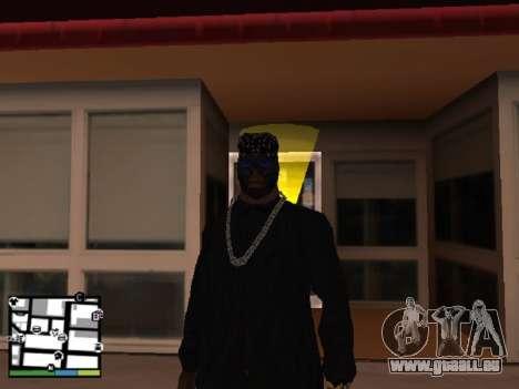 Vol magasin pour GTA San Andreas deuxième écran