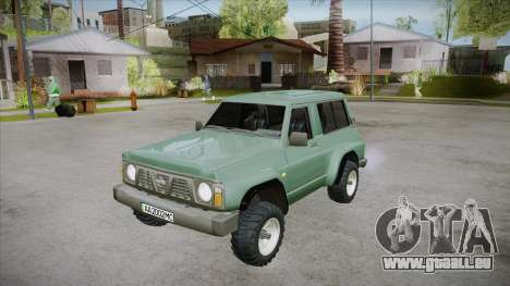 Nissan Patrol Y60 pour GTA San Andreas moteur