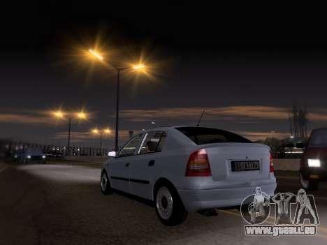 Opel Astra G pour GTA San Andreas laissé vue