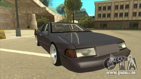 Fortune Drift pour GTA San Andreas laissé vue