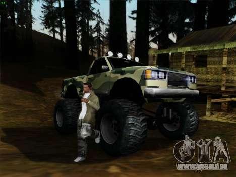Camouflage pour Monster pour GTA San Andreas