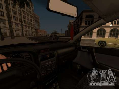 Opel Astra G pour GTA San Andreas moteur