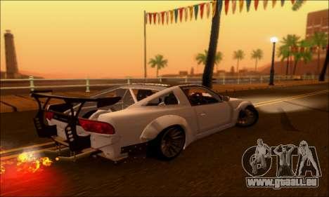 Nissan 380SX BenSopra pour GTA San Andreas laissé vue