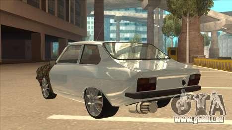 Dacia 1310 Sport Tuning für GTA San Andreas Rückansicht