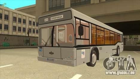 511 Sremcica Bus für GTA San Andreas