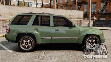 Chevrolet TrailBlazer SS 2008 für GTA 4 linke Ansicht