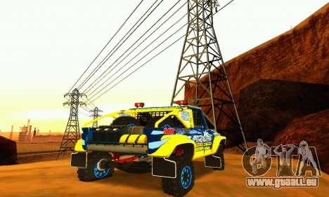 UAZ 31514 Rally pour GTA San Andreas vue de côté
