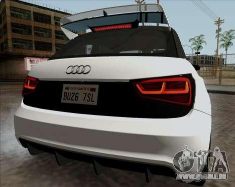 Audi A1 Clubsport Quattro für GTA San Andreas rechten Ansicht