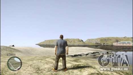 Franklin de GTA 5 pour GTA 4 huitième écran
