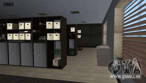 Retekstur l'intérieur de l'hôtel de ville pour GTA San Andreas septième écran