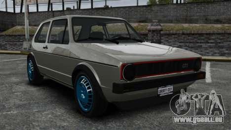 Volkswagen Golf MK1 GTI Update v2 für GTA 4