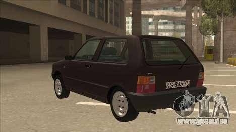 Yugo Uno 45 R 1994 für GTA San Andreas Rückansicht