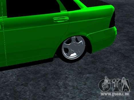 Lada Priora Carbon Lux für GTA San Andreas rechten Ansicht