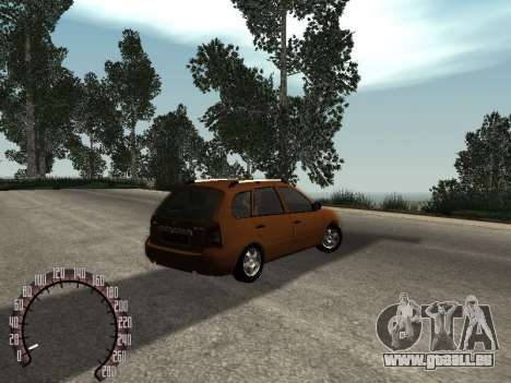 Lada 1117 Kalina pour GTA San Andreas vue de droite