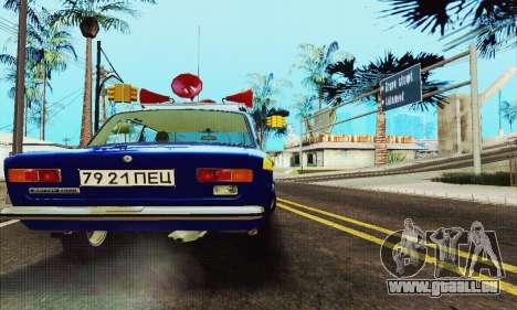 VAZ 21011 propagande pour GTA San Andreas vue arrière