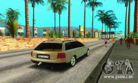 Audi A6 (C5) Avant für GTA San Andreas rechten Ansicht