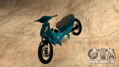 Honda 125cc Tuning für GTA San Andreas