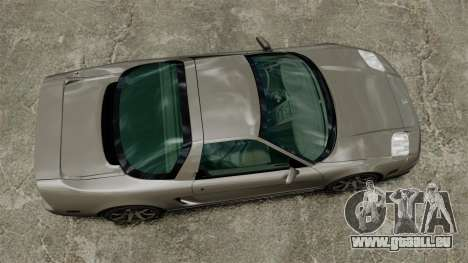 Acura NSX pour GTA 4 est un droit