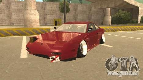 Nissan Silvia S18-5 für GTA San Andreas