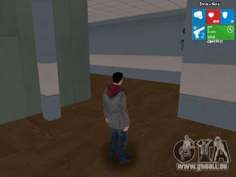 Le personnage principal de NFS : carbone pour GTA San Andreas deuxième écran