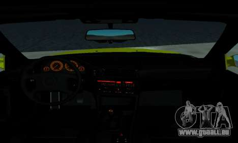 BMW M5 E34 IVLM v2.0.2 pour GTA San Andreas vue de dessus