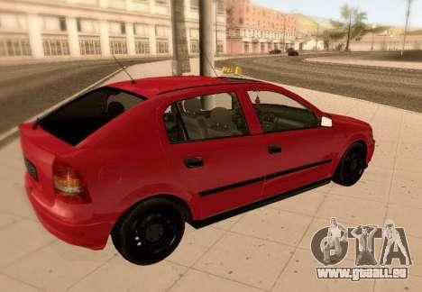Opel Astra G pour GTA San Andreas vue de côté