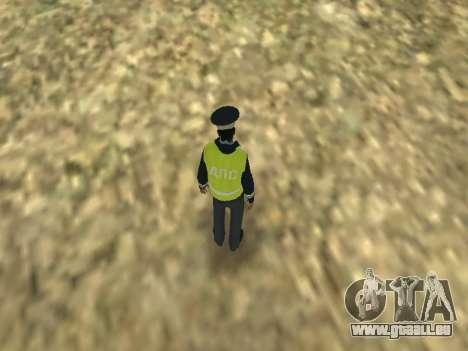 La peau de l'employé DPS pour GTA San Andreas quatrième écran